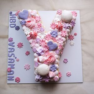 کیک حرف Y