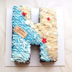 کیک سابله حرف H