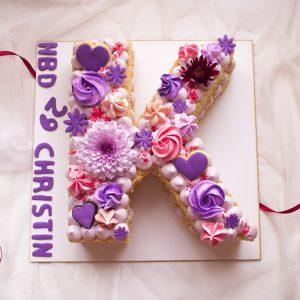 کیک حرف k