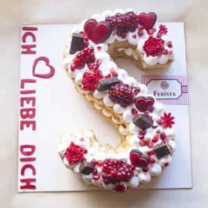کیک سابله حرف S