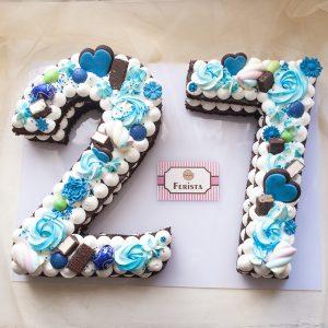کیک سابله عدد 27
