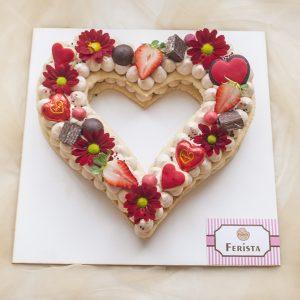 کیک سابله قلب