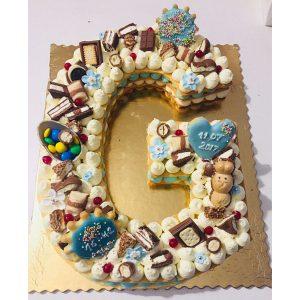 سابله کیک حروف G فانتزی