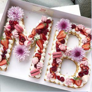 کیک سفارشی حروف MB