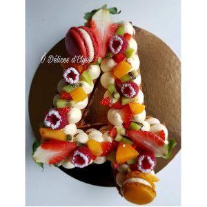 کیک سابله عدد 4 میوه ای