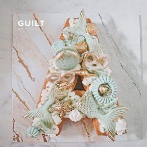 guiltdesserts 178 300x300 - بیسکوکیک  حرف A تم آبی پری دریایی