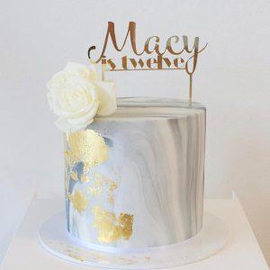 سفارش کیک تولد فوندانت طرح سنگ