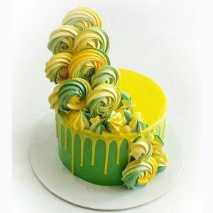 imfalji 61 300x300 - سفارش کیک تولد خامه ای تم سبز و زرد