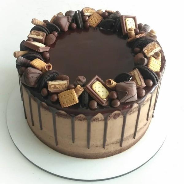 torta s keksíkmi