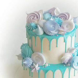 imfalji 78 300x300 - سفارش کیک تولد دو طبقه آبی سفید