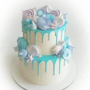 imfalji 79 300x300 - سفارش کیک تولد دو طبقه آبی سفید